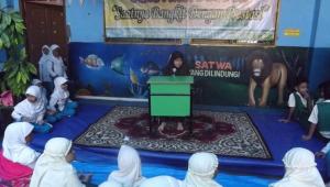 Salahsatu kegiatan lomba Gema Muharram 1438 H SDIT Al-Hikmah Mampang
