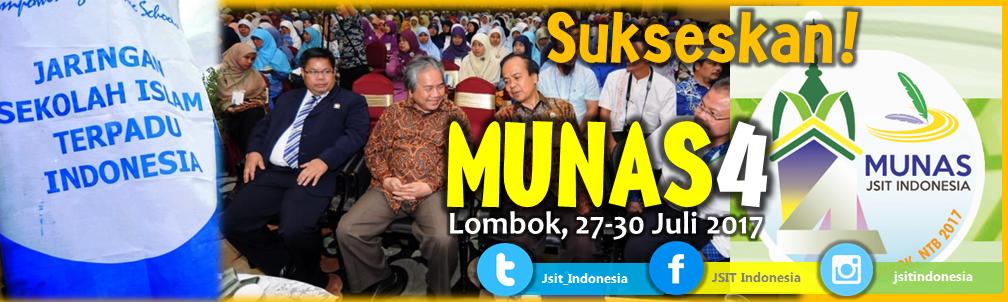 Sukseskan MUNAS 4 JSIT INDONESIA