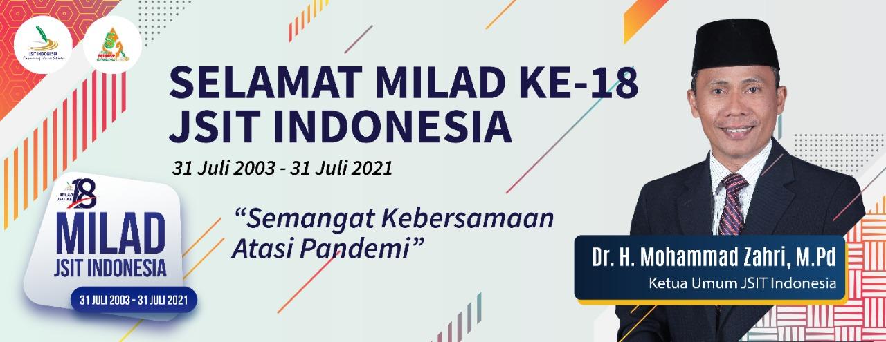 Selamat Milad Ke-18 JSIT Indonesia